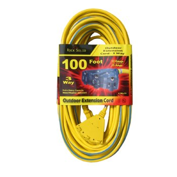 Single Tap Extension Cords 100 Ft