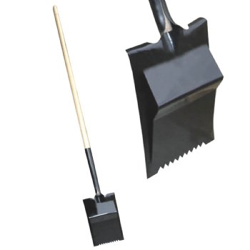 3 Tear Off Smooth Spade With D Handle And Fulcrum
