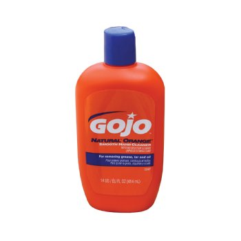 Gojo Hand Cleaner 14 Oz Squeeze Bottle Cleaning Items